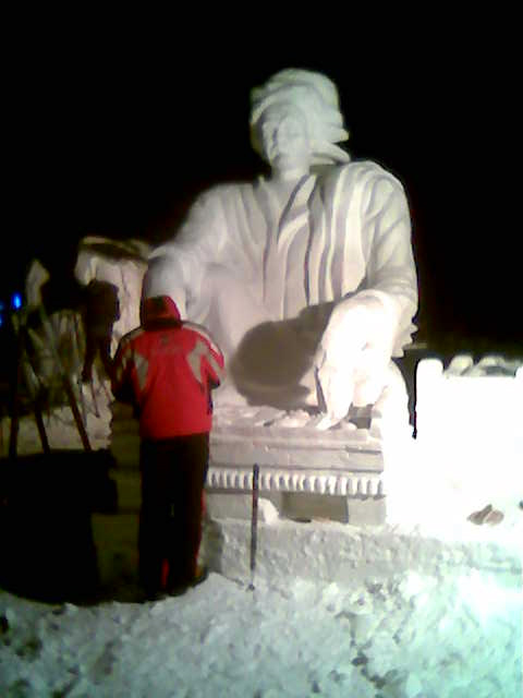 23_Snow_sculpture